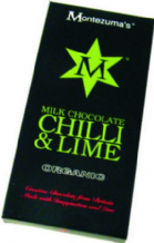 Montezuma's - Organic Milk Chocolate with Chilli and Lime 100g